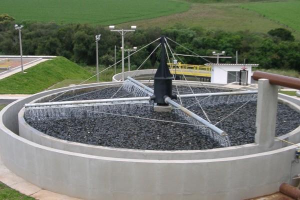 Distribuidor Rotativo para Filtro Biológico