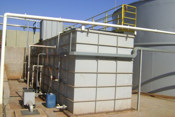 Estação compacta para Efluentes Sanitários