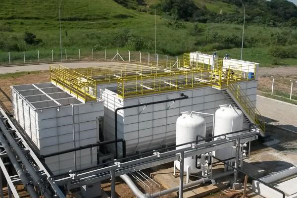Estação de Tratamento de Água do tipo Aberta